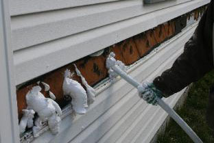 Home Insulation In Michigan Injection Foam Insulating Facts